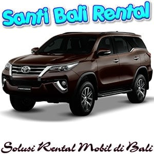 sewa mobil mewah di bali murah, rental mobil fortuner di bali buka 24 jam - Santi Bali Rental Mobil