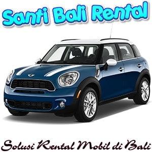 Sewa mobil mewah di bali murah, rental mobil Mini Cooper di bali buka 24 jam - Santi Bali Rental Mobil